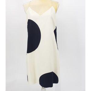 J.Crew |  Dotted Racerback Dress - Size 8